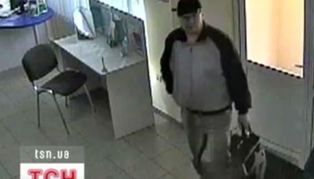 Чергове збройне пограбування банку в Києві