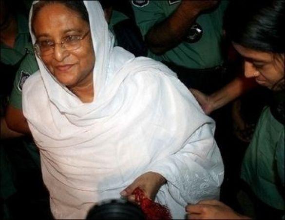 Хасіна Вазед, екс-прем'єр-міністр Бангладеш