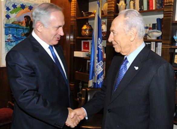 Шимон Перес, Беньямін Нетаньяху