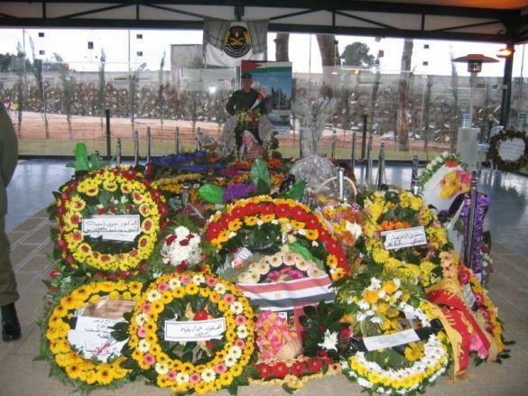 Могила Ясира Арафата в Рамаллі (Фото: Wikipedia)