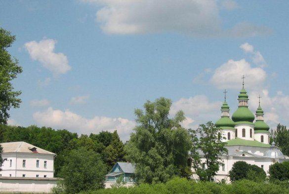 Георгіївський монастир у Козельці Чернігівської області (Фото: www.serg-klymenko.narod.ru)