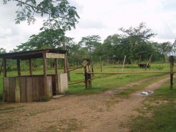 Кордон між Гондурасом та Нікарагуа