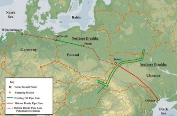 Нафтопроводи України