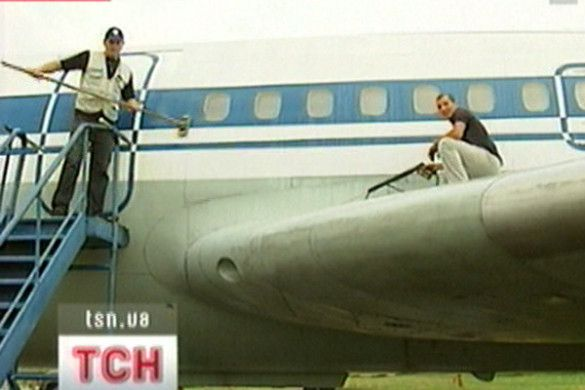 Миття літаків