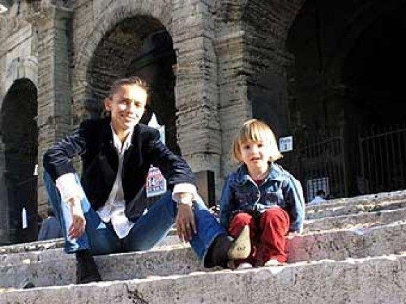 росыйсько-французька родина Елізи Андре