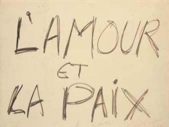 плакат Леннона