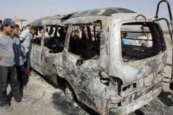 Наслідки вибуху в Багдаді