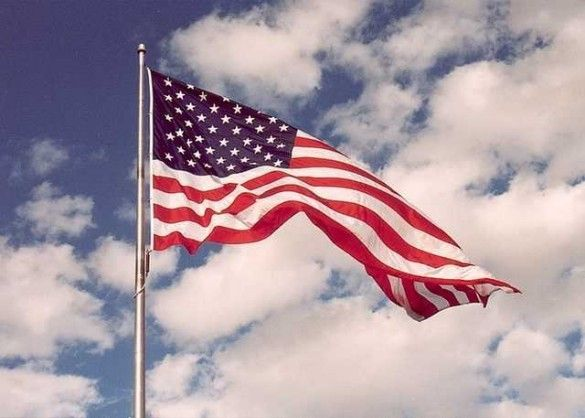 США американський прапор