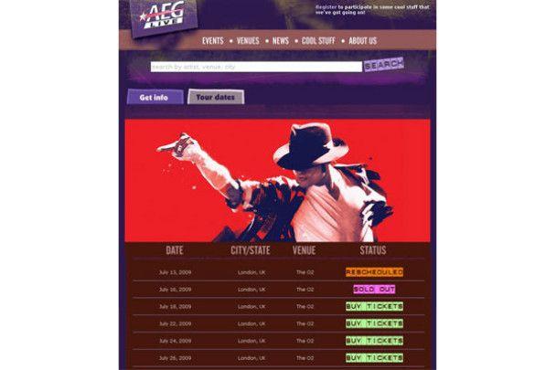 На концерт померлого Майкла Джексона досі продають квитки