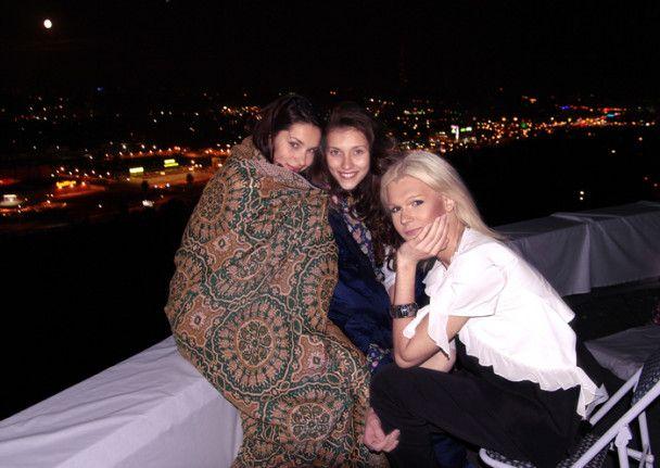 Могилевська відзначила день народження на даху будинку