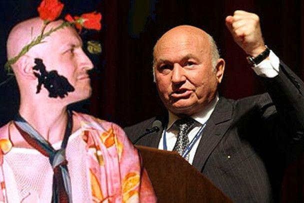 """Лужков подав до суду на художника, який перетворив його на """"уклюжего вора"""""""
