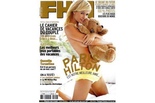 Періс Хілтон роздягнулась для французьких чоловіків