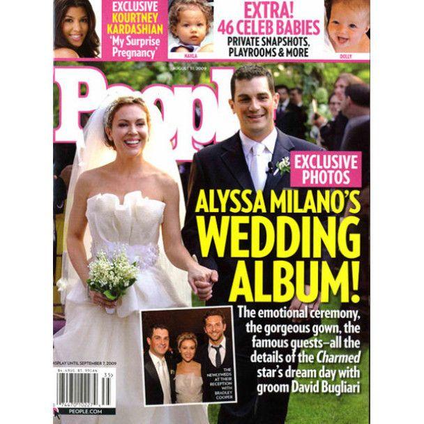 Алісія Мілано влаштувала сільське весілля