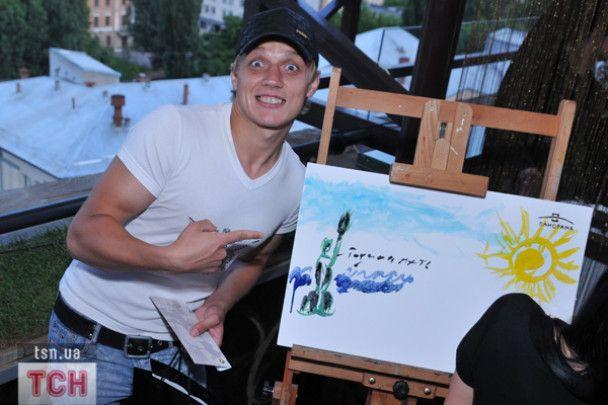Як Козловський з Педаном романтичний Київ малювали