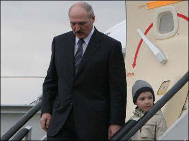 Лукашенко відвіз сина до Ватикану