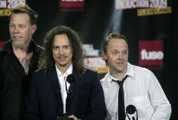 Metallica зіграла повним складом у Залі слави рок-н-ролу