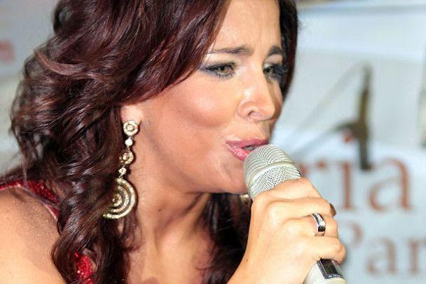 Ані Лорак дала перший концерт в статусі дружини