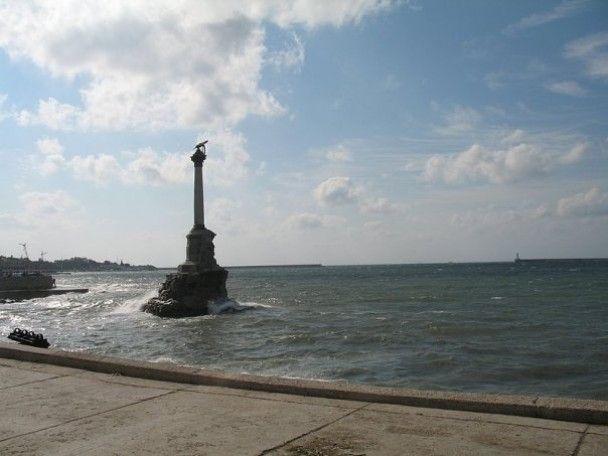 Давня історія на пляжі Севастополя
