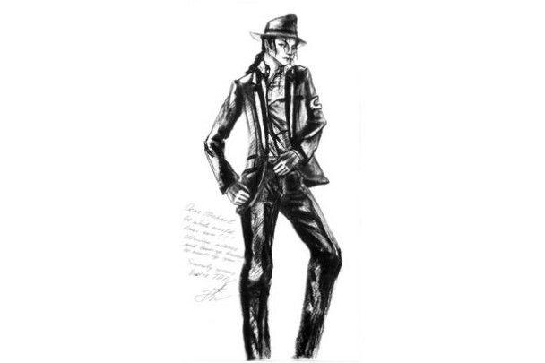 Andre TAN пошив смокінг для Майкла Джексона
