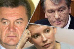Украинцы ассоциируют Януковича со шкафом а Ющенко с мухобойкой