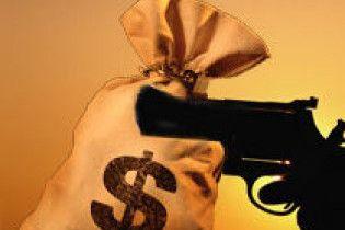 Як на Тернопільщині банк грабували (відео)