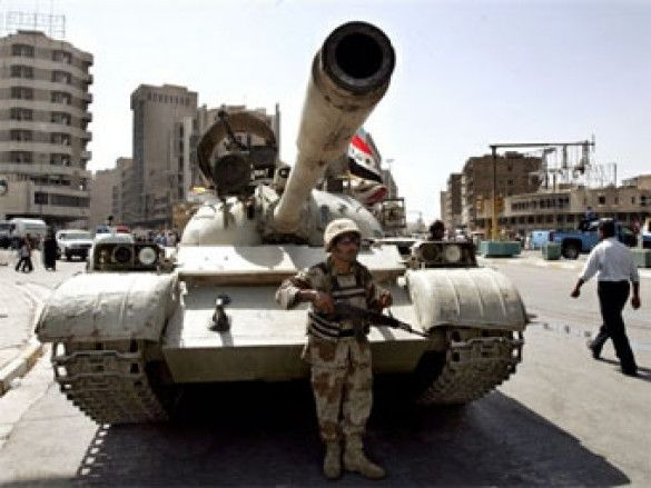 Іракський військовий в Багдаді