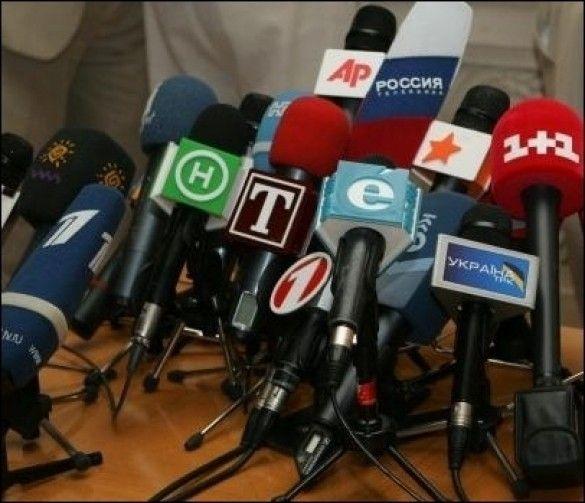 Мікрофони ЗМІ