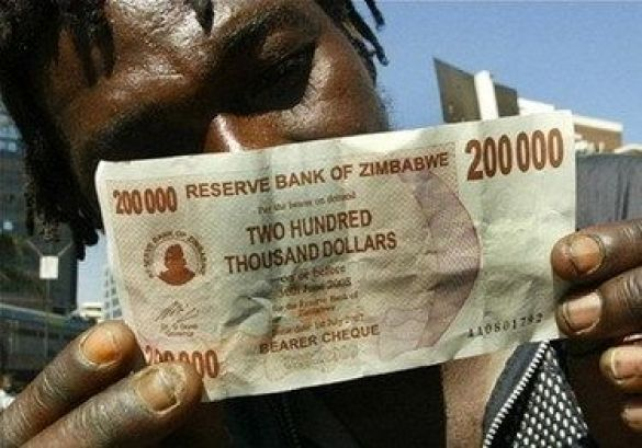 Долари Зімбабве