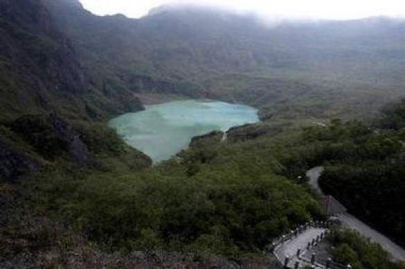 Кратер вулкану Маунт Келуд
