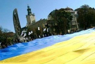 Спецназ СБУ встановив у Криму гігантський прапор України