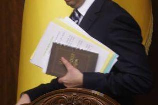 Яценюк готовий пожертвувати своїм кріслом