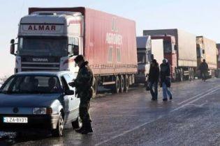 На украинско-польской границе опять очереди (видео)