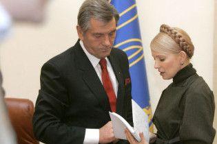 Тимошенко: Ющенко мені не конкурент із 2004 року