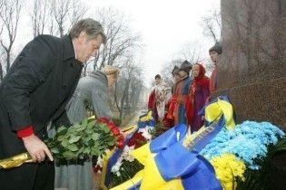 Вітання президента на честь Дня народження Шевченка