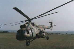 Україна позичила Росії вертоліт для гасіння пожеж