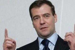 Невідомий спробував перешкодити виступу Мєдвєдєва в Кремлі