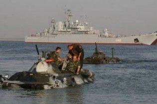 Військові навчання НАТО в Криму зірвано