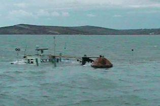 В Черном море затонуло судно с украинцами