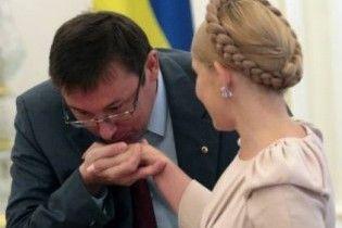 Тимошенко не дасть звільнити Луценка
