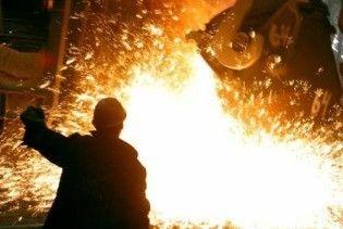 Виробництво сталі в Україні зросло на 6%