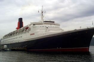 Один з найвідоміших океанських лайнерів світу сів на мілину