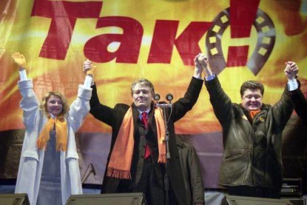 Ющенко згадав про Помаранчеву революцію (відео)