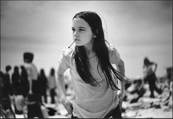Дівчина з сигаретою