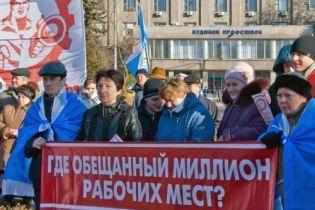 Профспілки пікетують Верховну раду