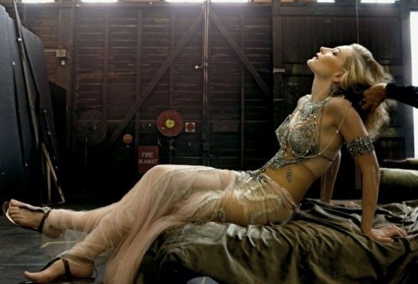 Кейт Бланшетт зняли для Vanity Fair