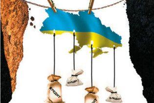 Державний борг України - 16 мільйонів доларів