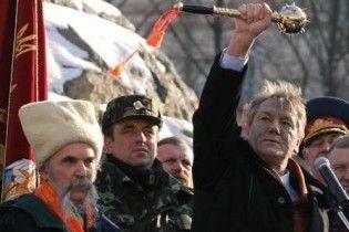 Ющенко прирівняє козаків до міліції, прикордонників та рятувальників