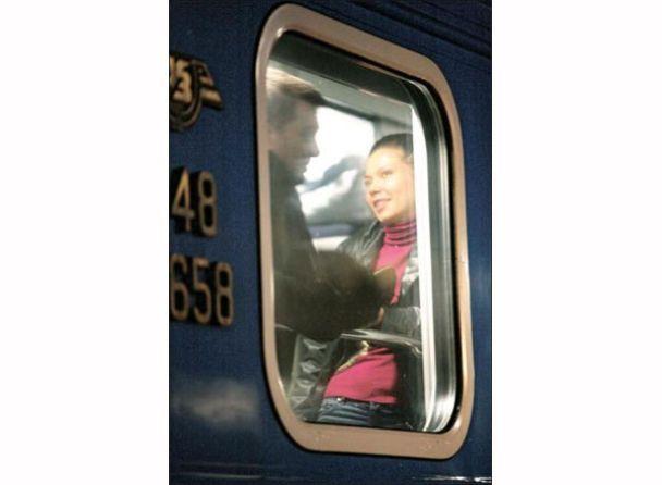 Чоловік Подкопаєвої в Донецьк поїхав із брюнеткою