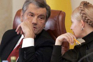Ющенко назвав неприпустимими кредитні домовленості Тимошенко з Москвою