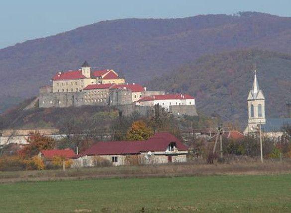 """Замок """"Паланок"""", Мукачево"""